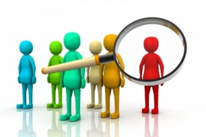 Recruiters searching for ideal job candidates